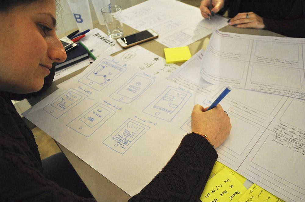 projet design thinking