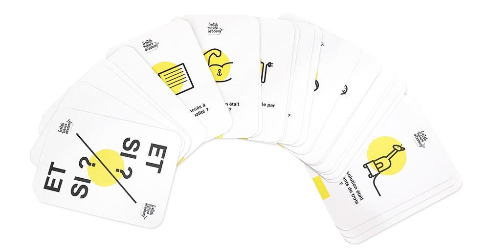 jeu de carte papier et si